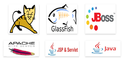 Java Tomcat Apache Glassfish Jboss